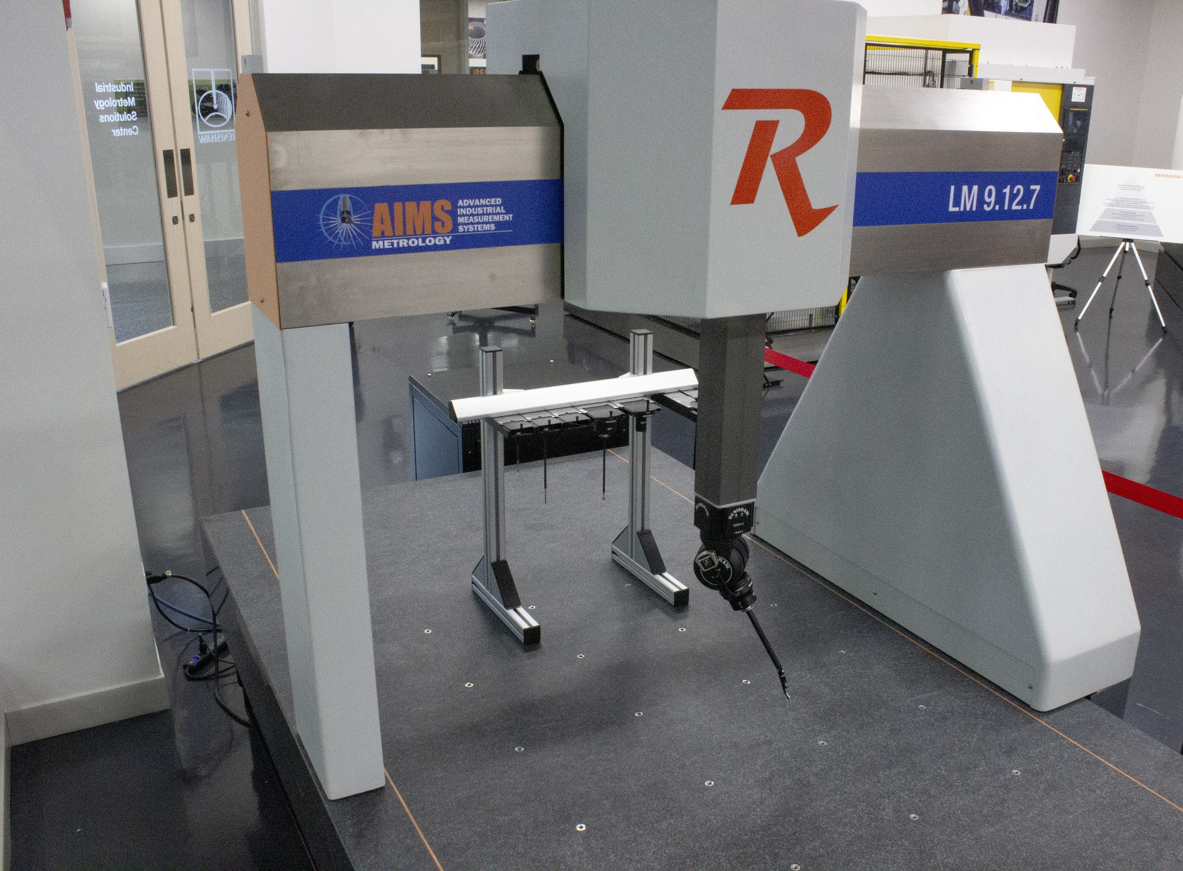AIMS LM CMM With 5-Axis REVO 2 and New SFP2 Probe 4-26-19