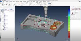 measuring in Verisurf software